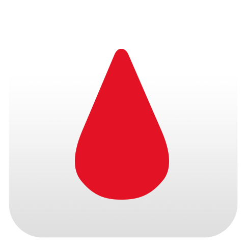 Mobile Apps Blood Icon