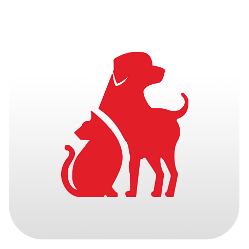 mobile apps pet safety icon