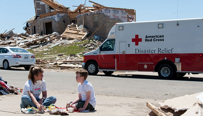 Red Cross Emergency Tornado
