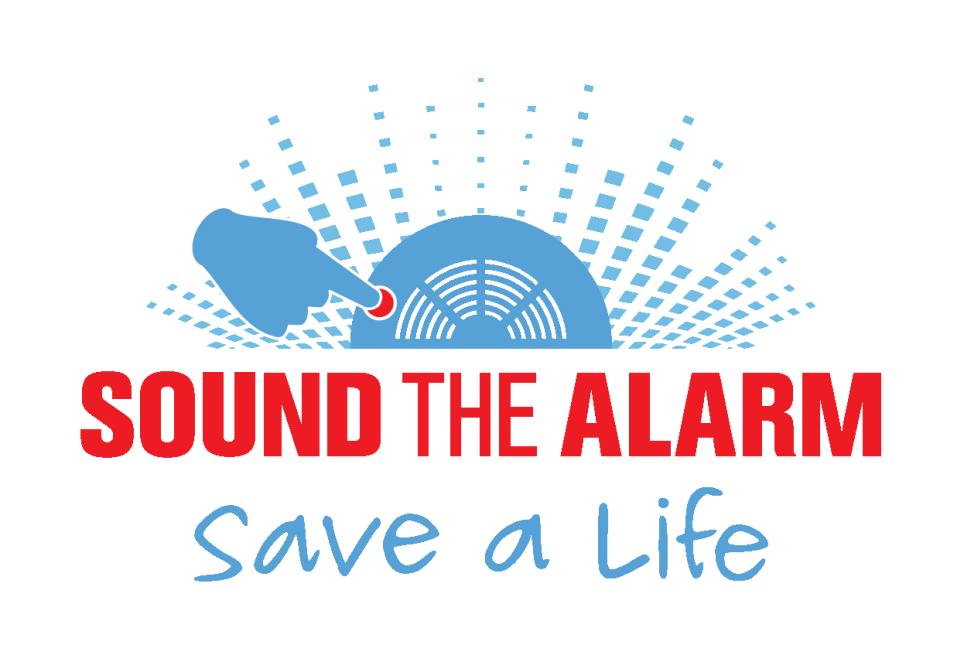 Red Cross Sound the Alarm program logo