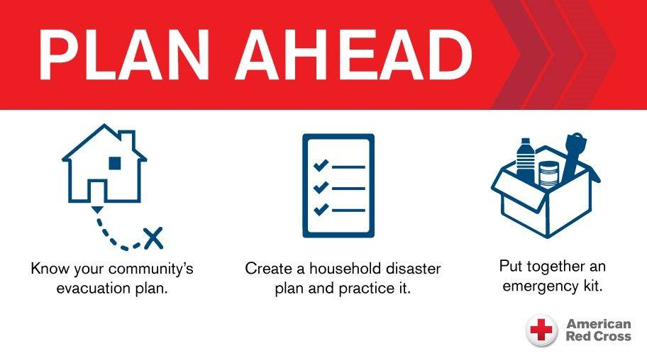 National Hurricane Preparedness Week is May 9-15 and the American Red Cross urges everyone to plan now for any possible dangerous storms this year.