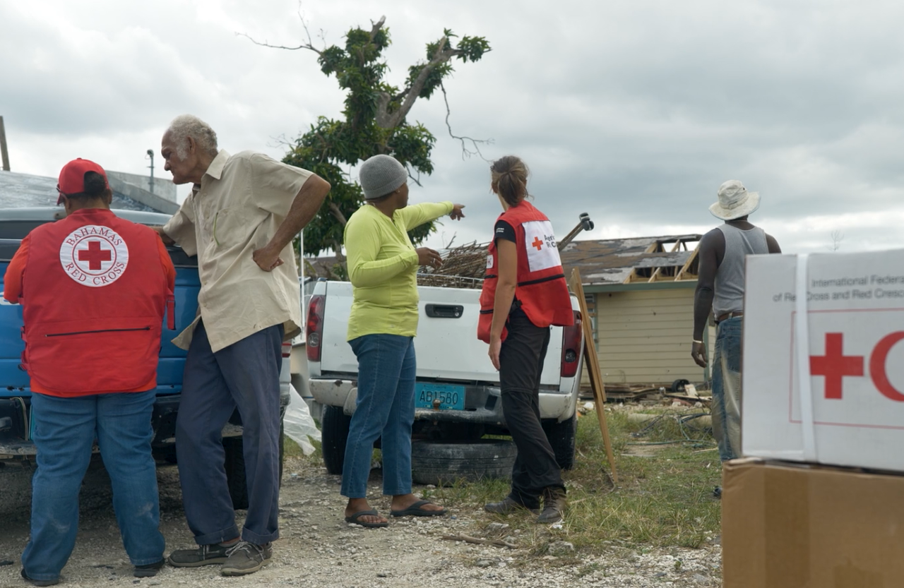 Three months after Hurricane Dorian struck the Bahamas, families are continuing to recover with help from the American Red Cross and the international Red Cross and Red Crescent network.