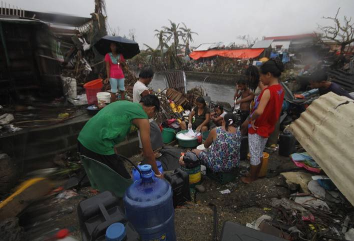Haiyan - Red Cross response