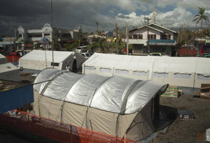 Field hospital, Ormoc Philippines