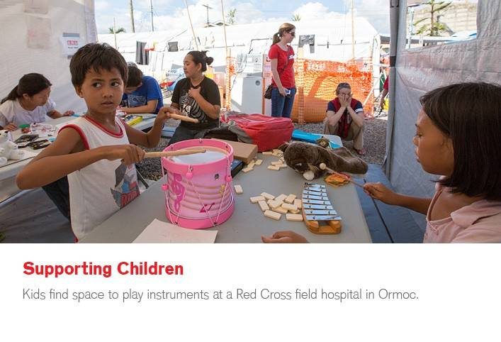 Seven ways the Red Cross is helping