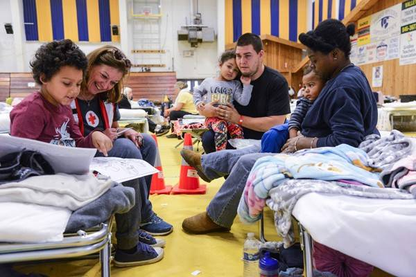587513a215d6 Red Cross Helps Thousands of Evacuees Find Safety As Raging California  Wildfires Continue to Burn