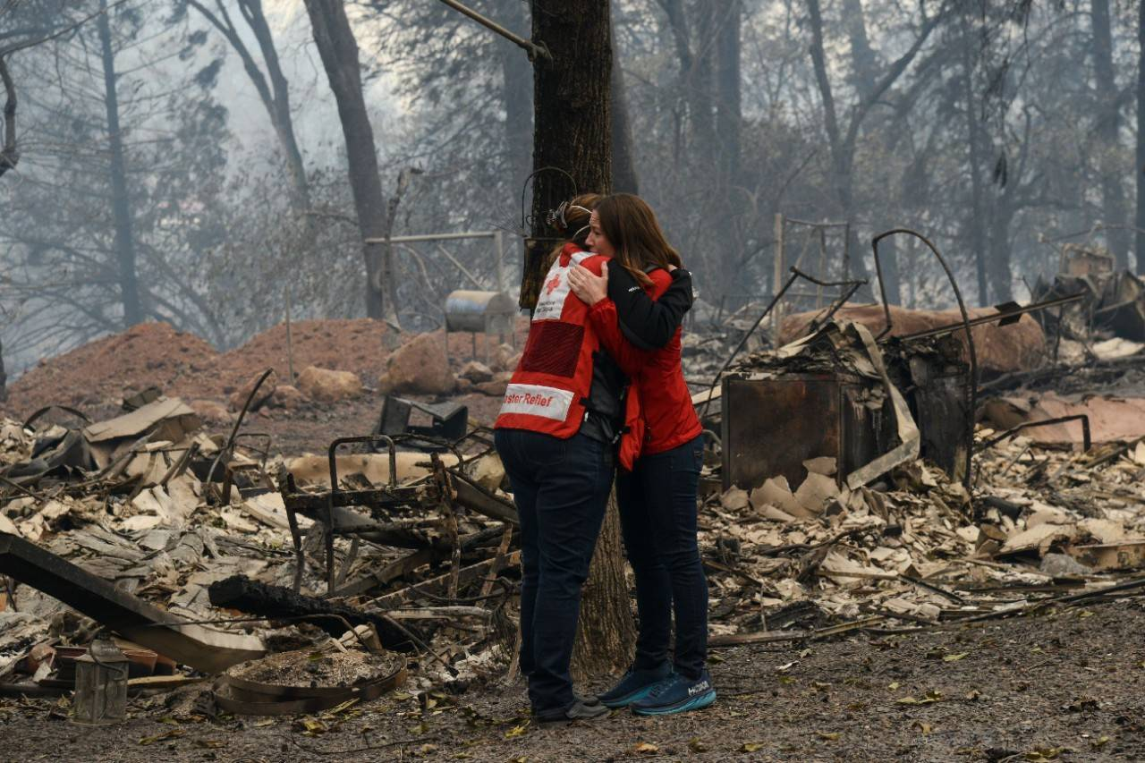 November 13, 2018. Paradise, California.