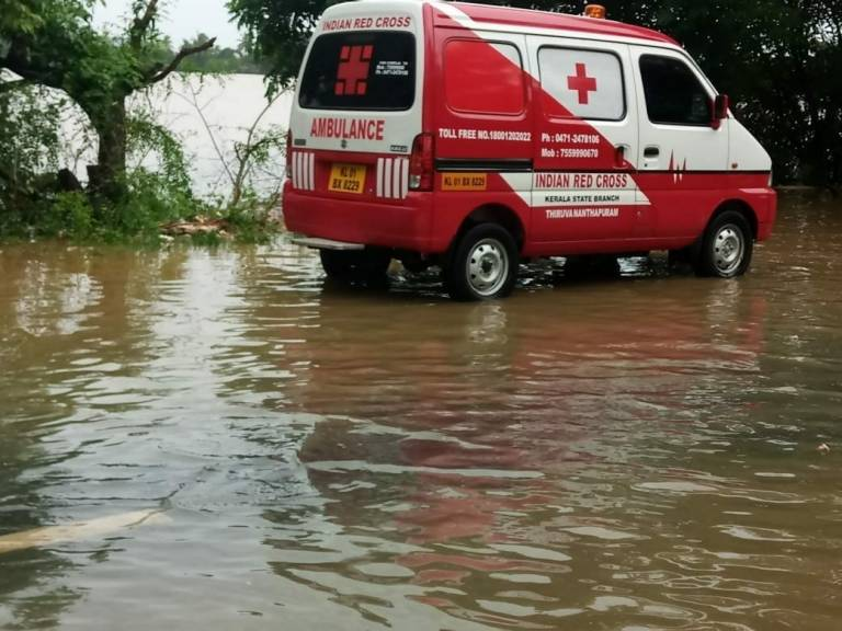 Red Cross Helps as Kerala, India Copes with Historic Floods