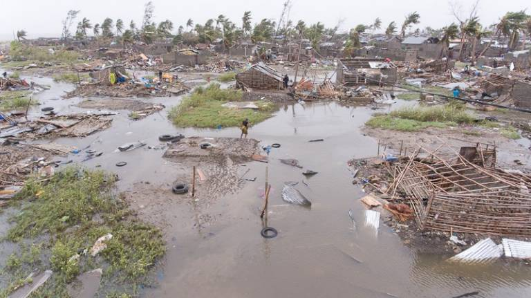 "Mozambique cyclone: ""Almost everything is destroyed"""