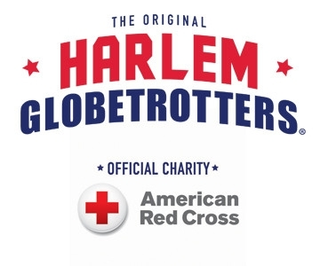 American Red Cross - Official Charity of the Harlem Globetrotters