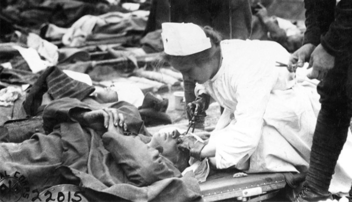 nurse in ww1