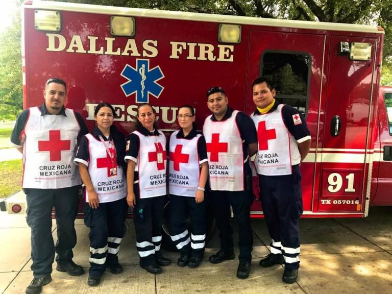 Mexican Red Cross Helps