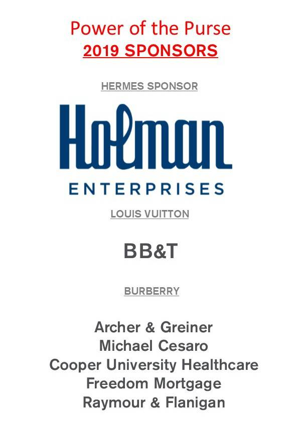 New Jersey Red Cross Power of the Purse Sponsors