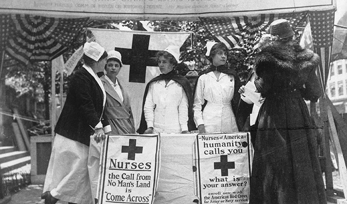 World War I Nurses of the Red Cross