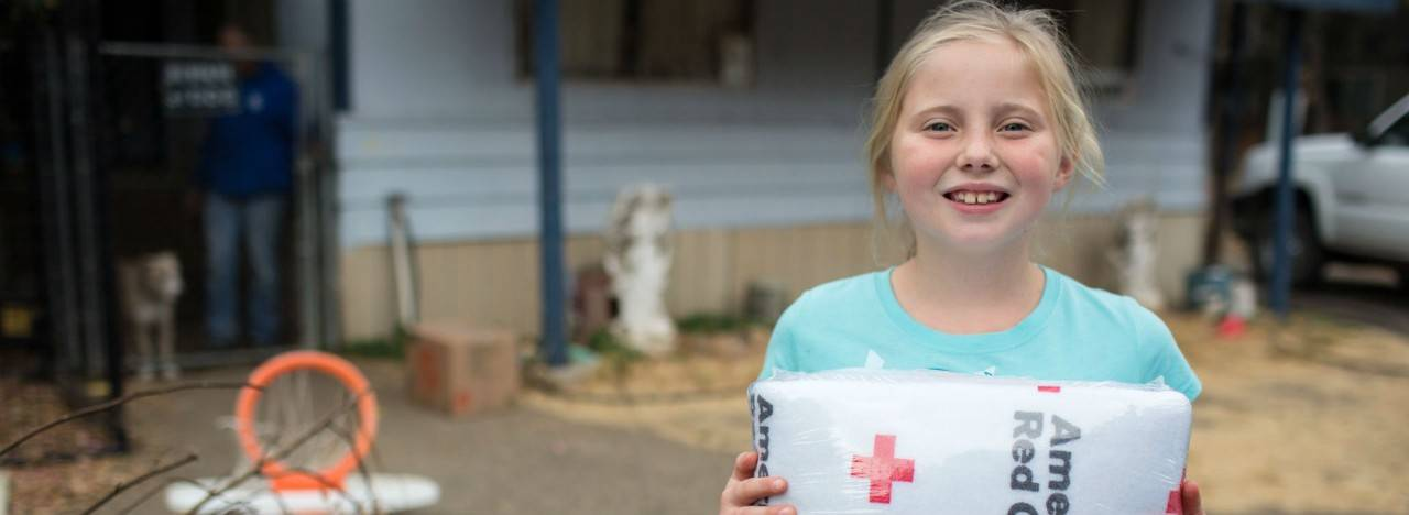 American Red Cross Help Those Affected By Disasters