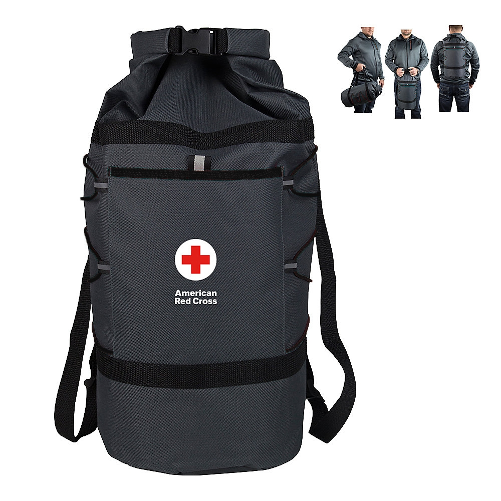 Redcross 2016 holiday free gifts duffel bag