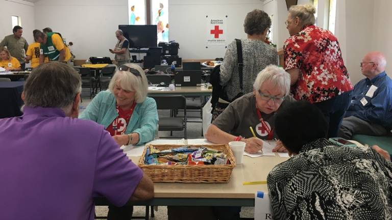Disaster relief, community partner, red cross