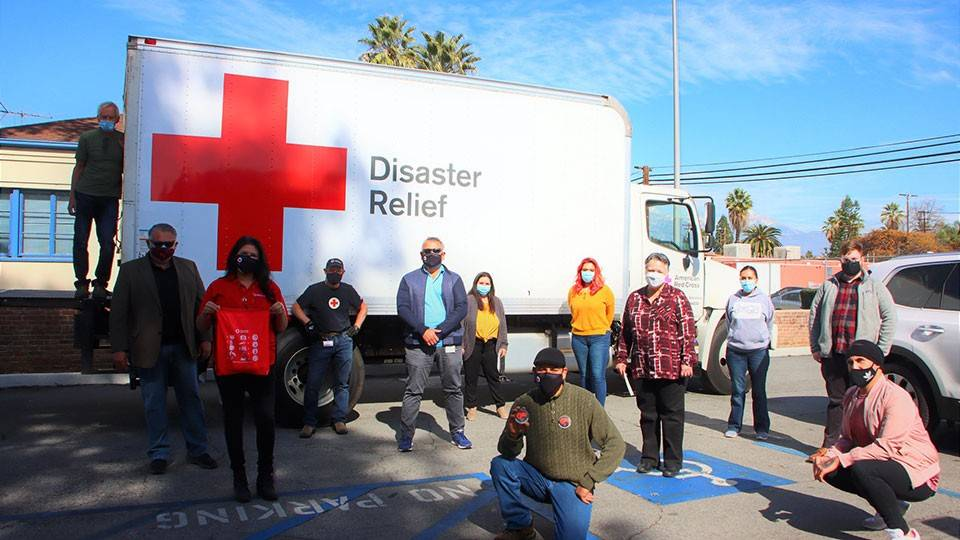 Red Cross Sound the Alarm team