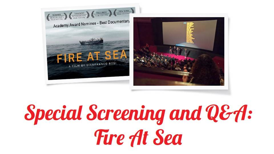 Special Screening and Q&A: Fire At Sea