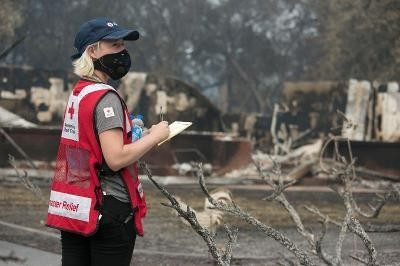 Help people affected by the California wildfires.