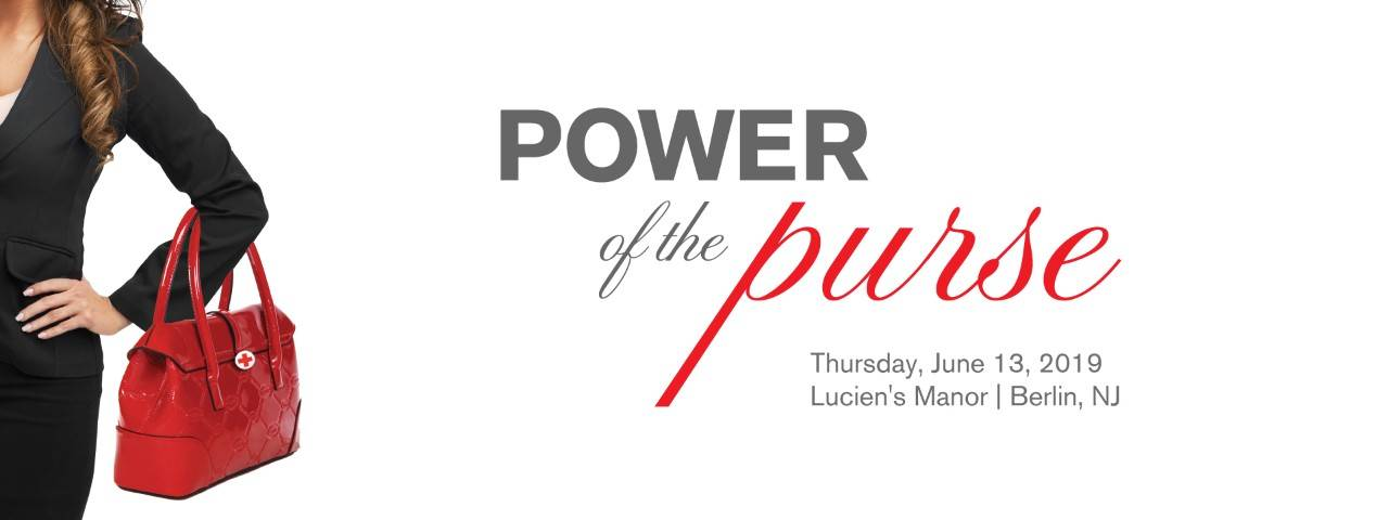 New Jersey Red Cross Power of the Purse Event Banner