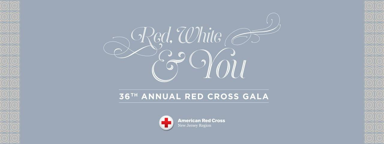 New Jersey Red White & You Gala Banner
