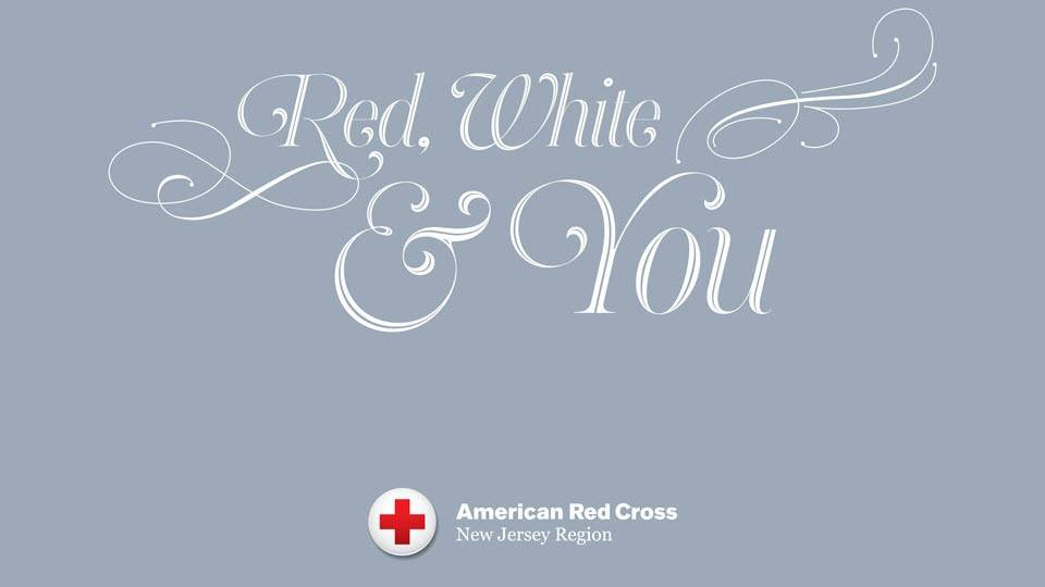 New Jersey Red Cross Red White & You Gala banner