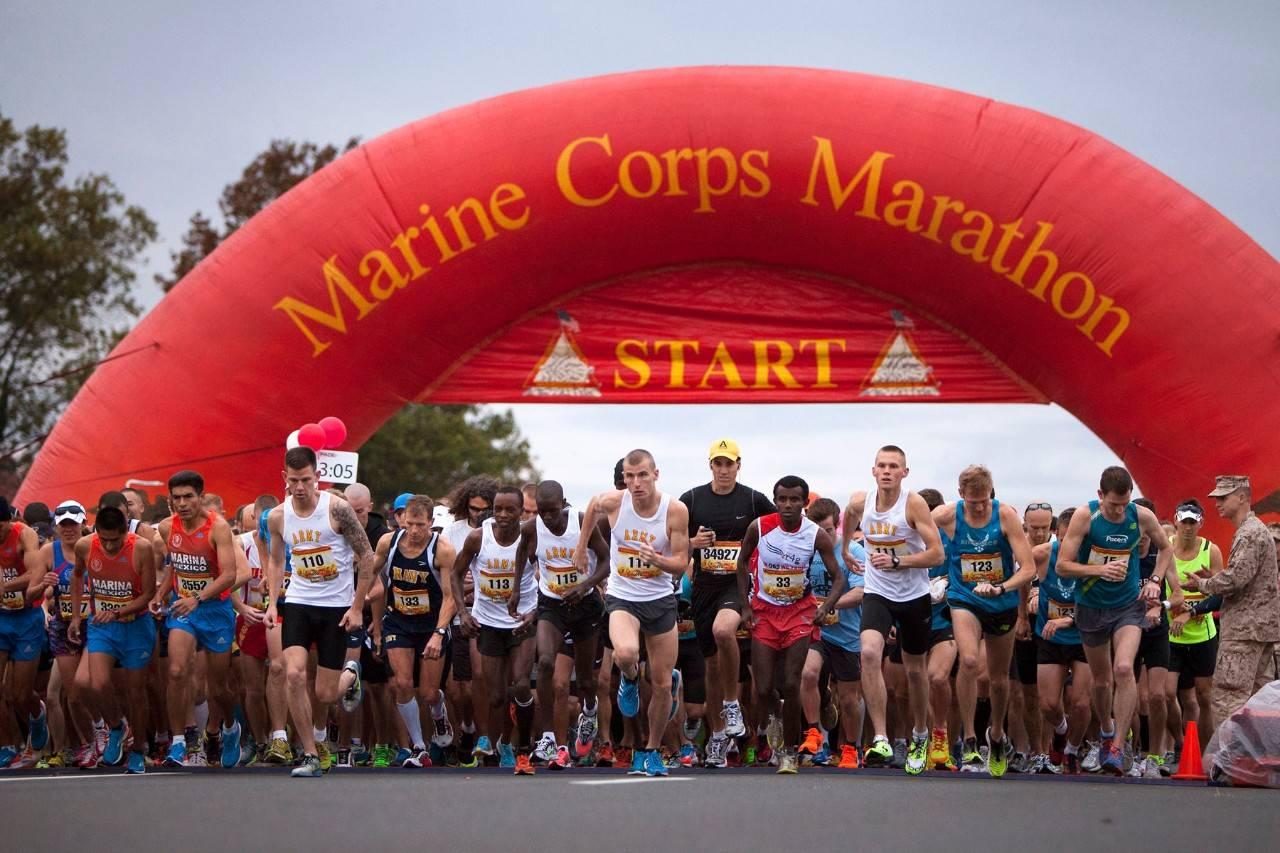 Image of Marine Corps Marathon and 10k