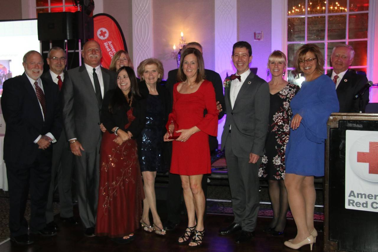 Honoring NJ Community Heroes at Red, White and You Gala