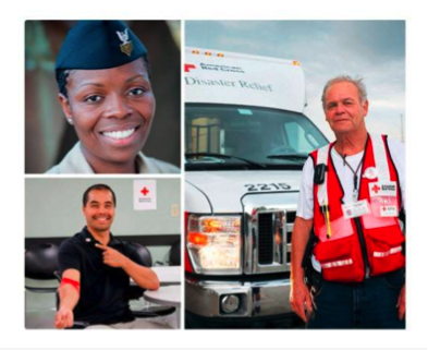 Photos of Red Cross heroes
