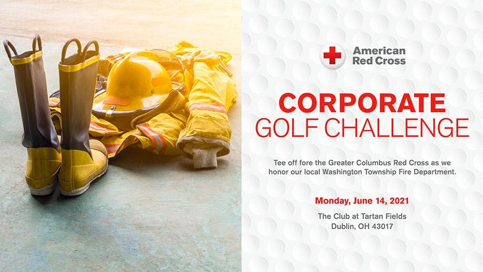 Central & Southern Red Cross Golf Challenge web page banner