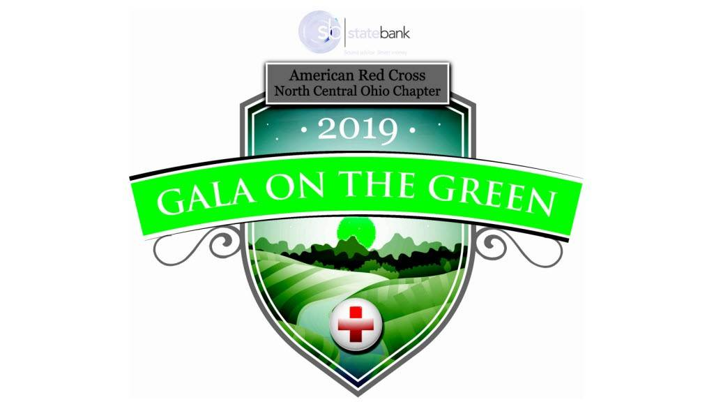 Ohio Buckeye Red Cross Web banner for Gala on the Green event