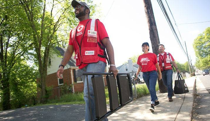 volunteer for sound the alarm
