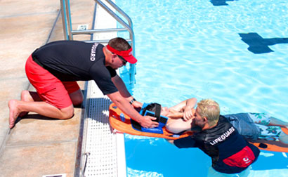 Taking a Lifeguarding & Water Safety Class