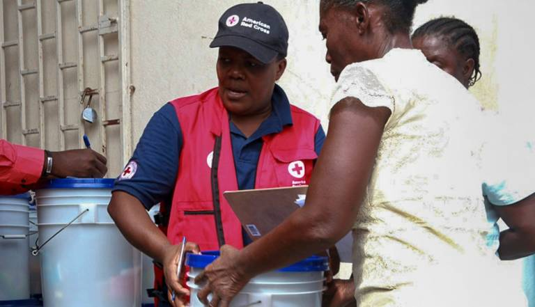Cholera prevention kits distributed in Haiti