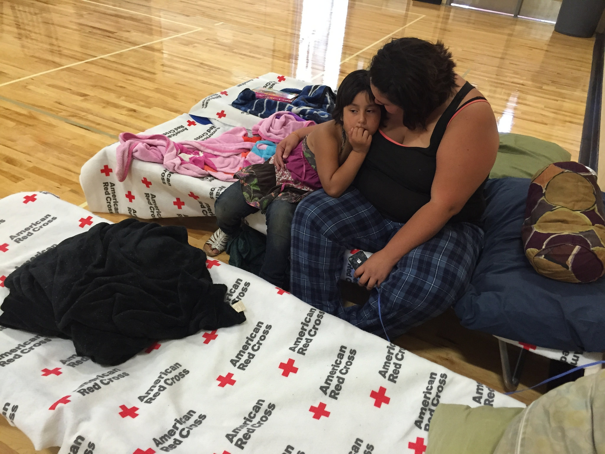 Red Cross Helps Wildfire Victims