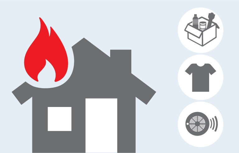 Home Fire illustration