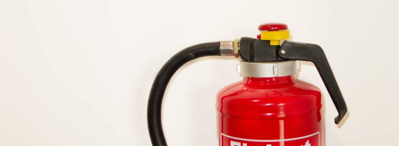 Home fire safety extinguisher