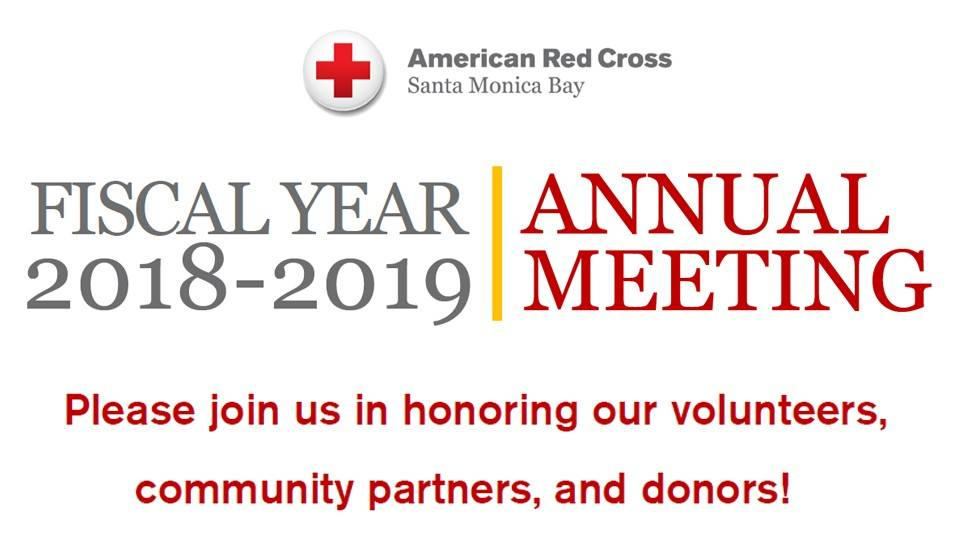 Red Cross Santa Monica FY19 Annual Meeting & Recognition Dinner