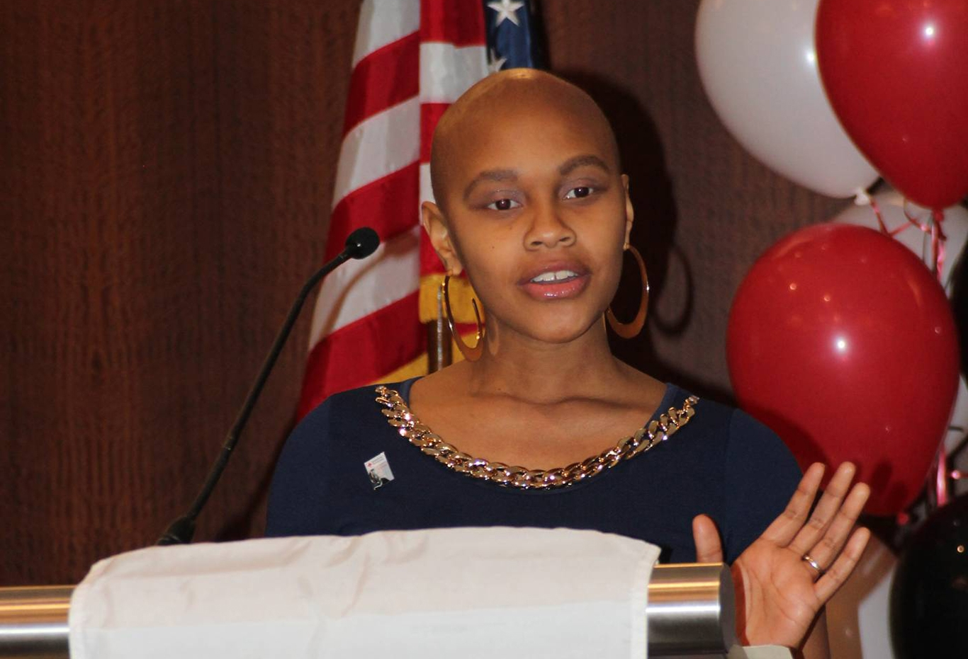 Johnetta Goolsby spoke at the Annual Minority Recruitment Luncheon hosted by the Red Cross Southern Region in Atlanta.