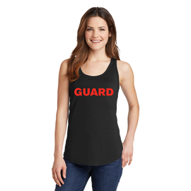 Women's Port & Company Core Cotton Tank Top - GUARD