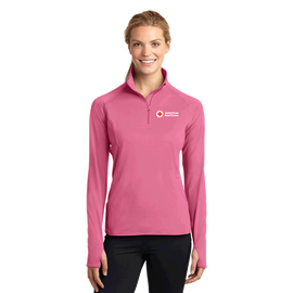 Ladies Sports-Wick ½ Zip Pullover