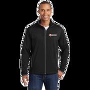 Men's Moisture-Wicking Stretch Contrast Zip Up Jacket