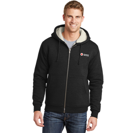 Men's Heavy Hooded Fleece Jacket