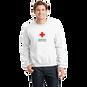 Unisex Crew Neck Sweatshirt with American Red Cross Logo