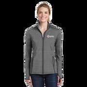 Women's Moisture-Wicking Stretch Contrast Zip Up Jacket