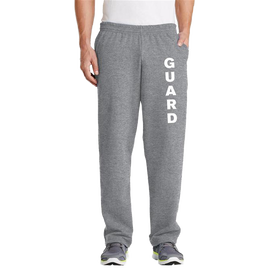 Unisex Fleece Sweatpant with Pockets - GUARD Print