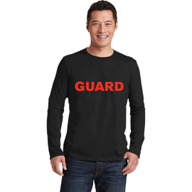 Unisex Long Sleeve T-Shirt - GUARD Print