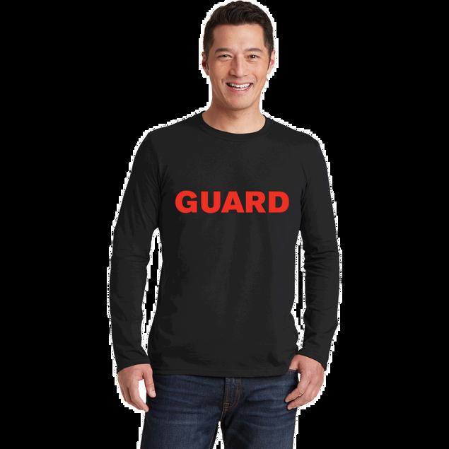 Unisex Long Sleeve T-Shirt - GUARD Print
