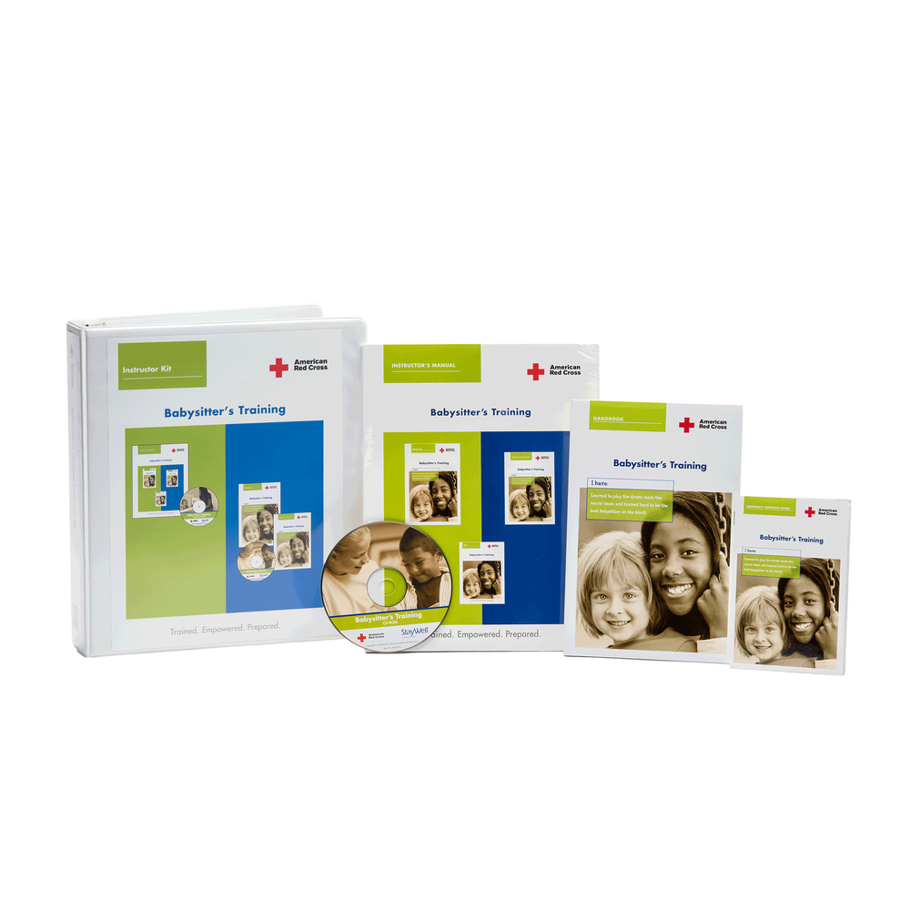 Babysitters Training Basic Instructors Kit Red Cross Store